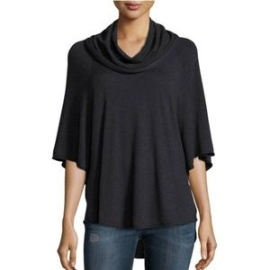 Joie Celia Cowl Neck Pullover Sweater, Charcoal